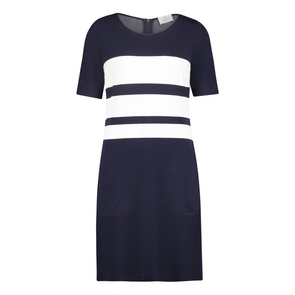 Dámske ľahké modrobiele šaty ROBE LEGERE