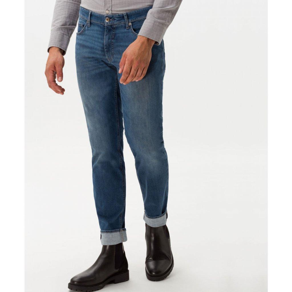 Pánske luxusné elastické a pohodlné džínsy model Chris BRAX, modern fit