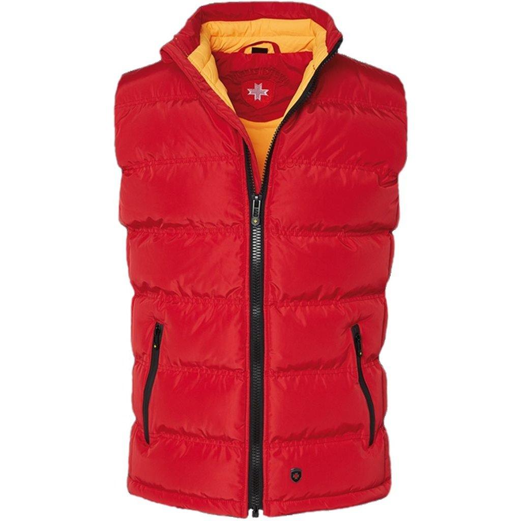 WELLENSTEYN Snowdome Vest Men funkčná červená vesta