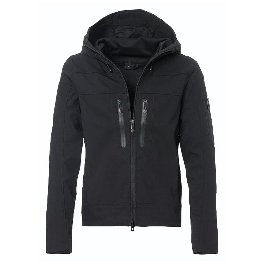 WELLENSTEYN Dynamica Men pánska čierna softšelová bunda