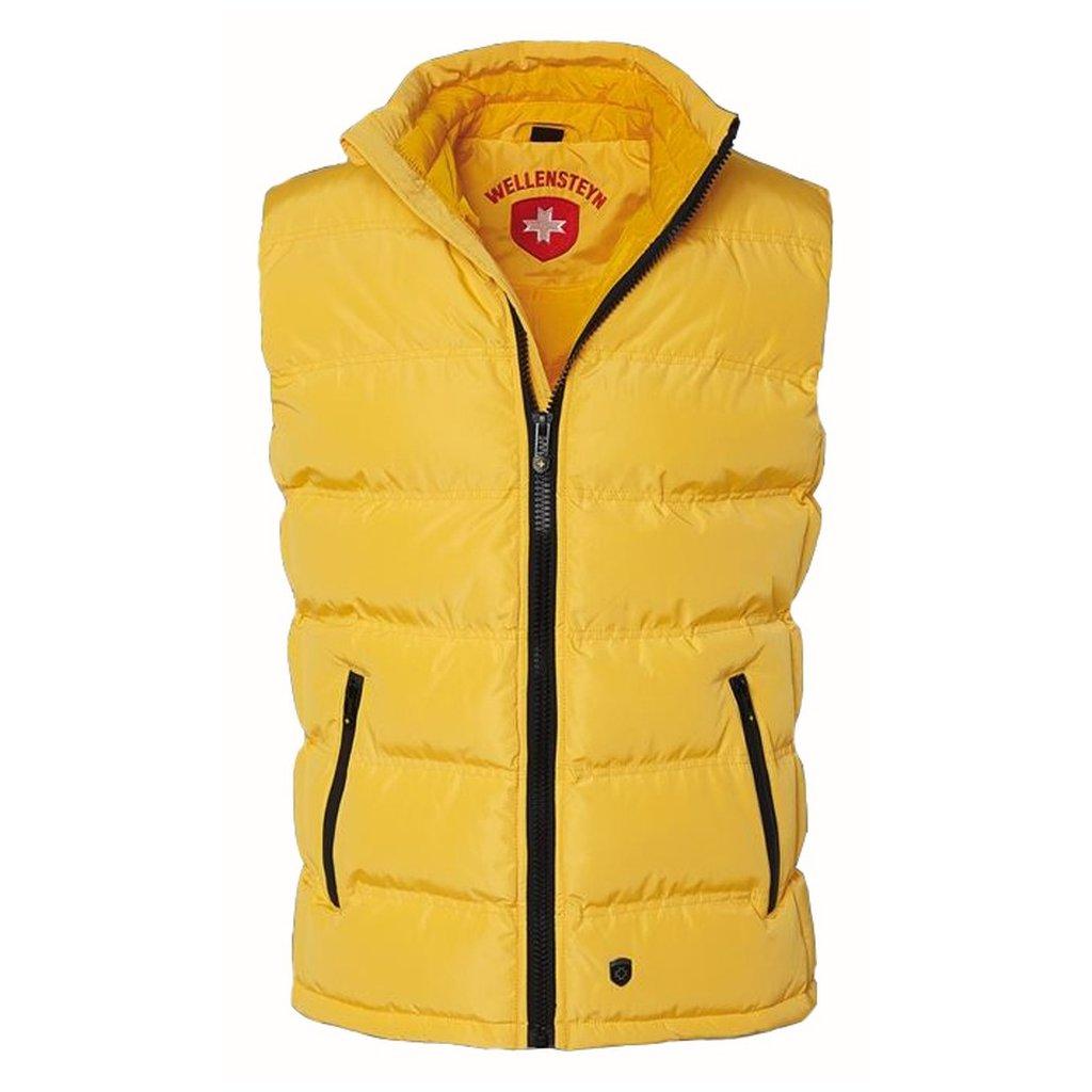 WELLENSTEYN Snowdome Vest Men funkčná žltá vesta