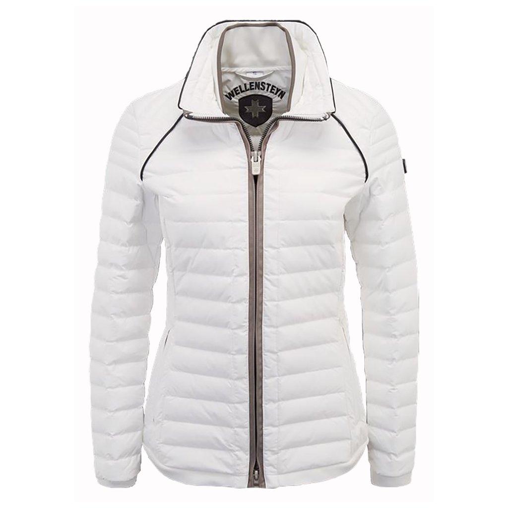 WELLENSTEYN MOL lady prechodná bunda bielej farby na tri ročné obdobia