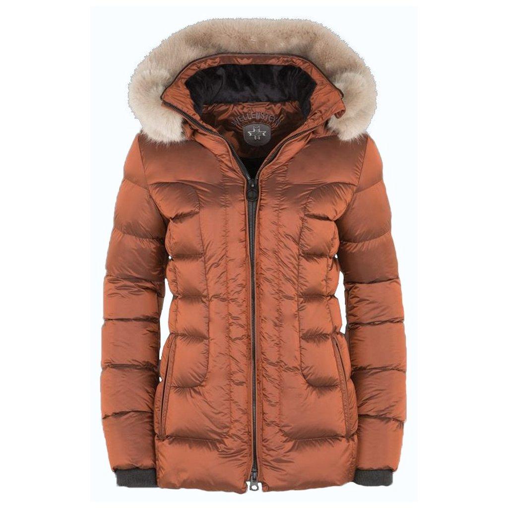 WELLENSTEYN Belvitesse Medium dámska oranžová funkčná zimná bunda