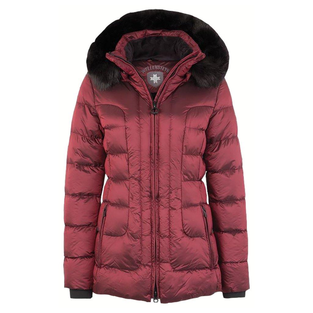 WELLENSTEYN Belvitesse Medium - dámska ľahká elegantne prešívaná červená zimná bunda