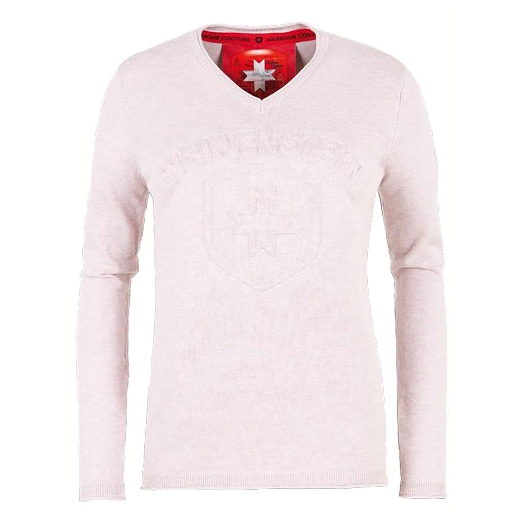 WELLENSTEY dámsky ružový pulóver s logom