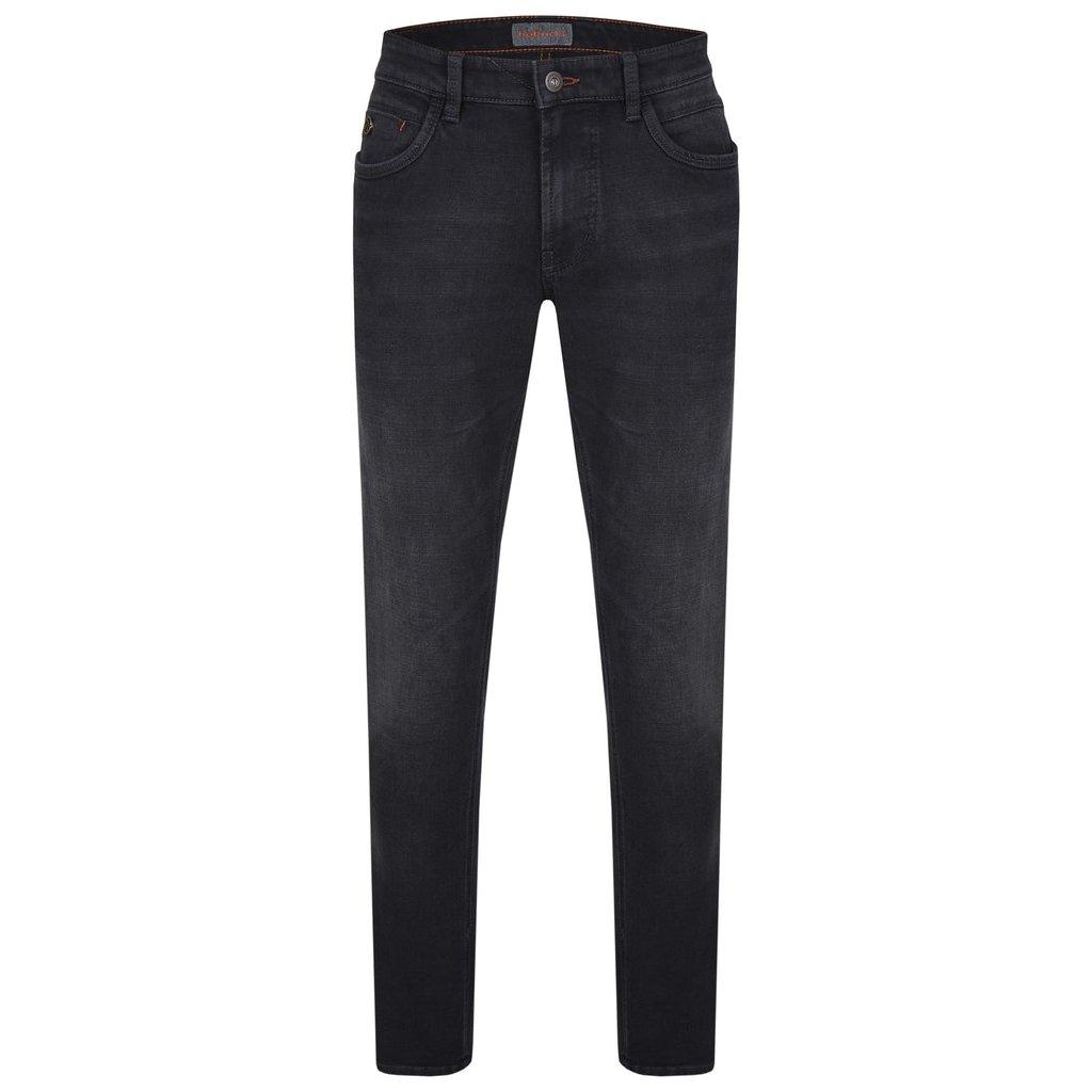 Pánske tmavomodré džínsy HATTRIC modern fit