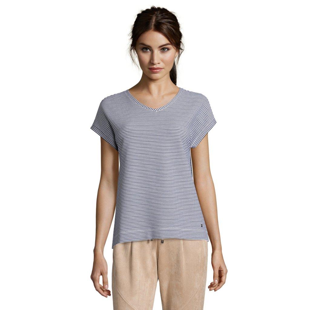 Dámske modro-biele tričko Betty&Co.