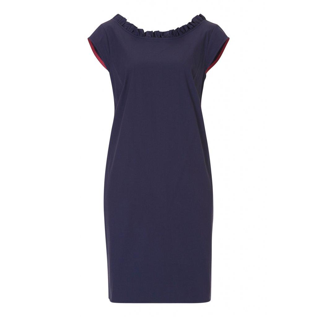 Dámske modré šaty Robe Legere