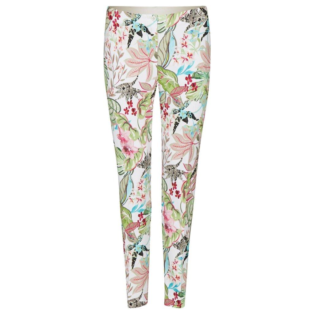 Dámske kvetované nohavice RABE