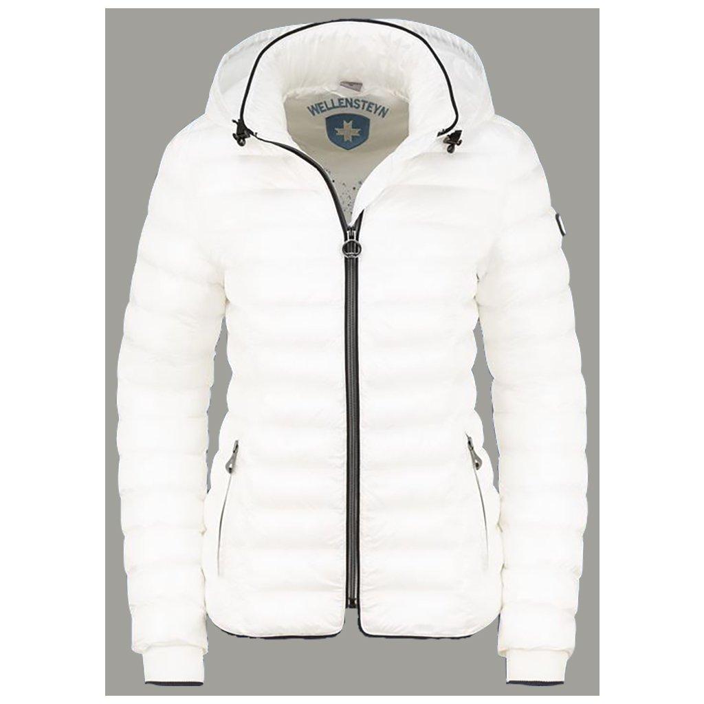 WELLENSTEYN Italy Hood dámska biela prechodná bunda