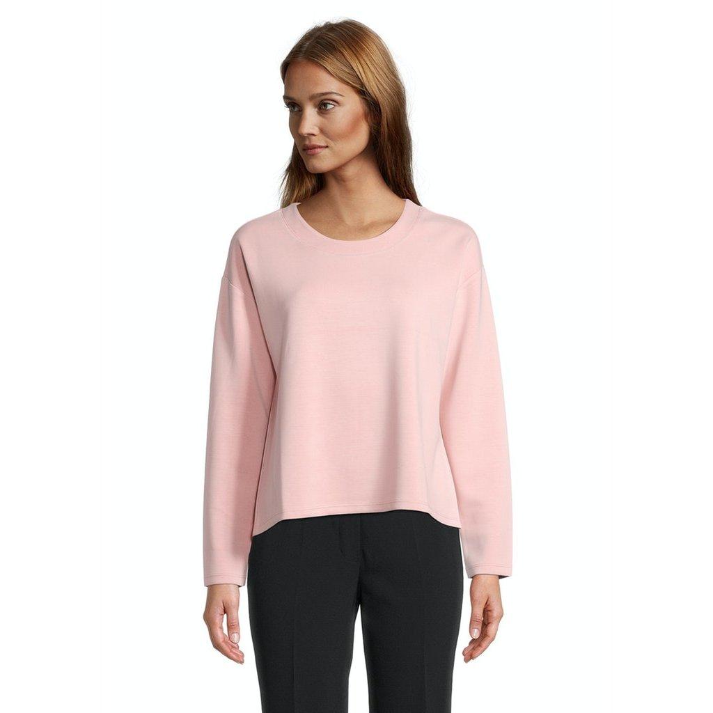 Dámsky ružový casual pulóver BETTY BARCLAY
