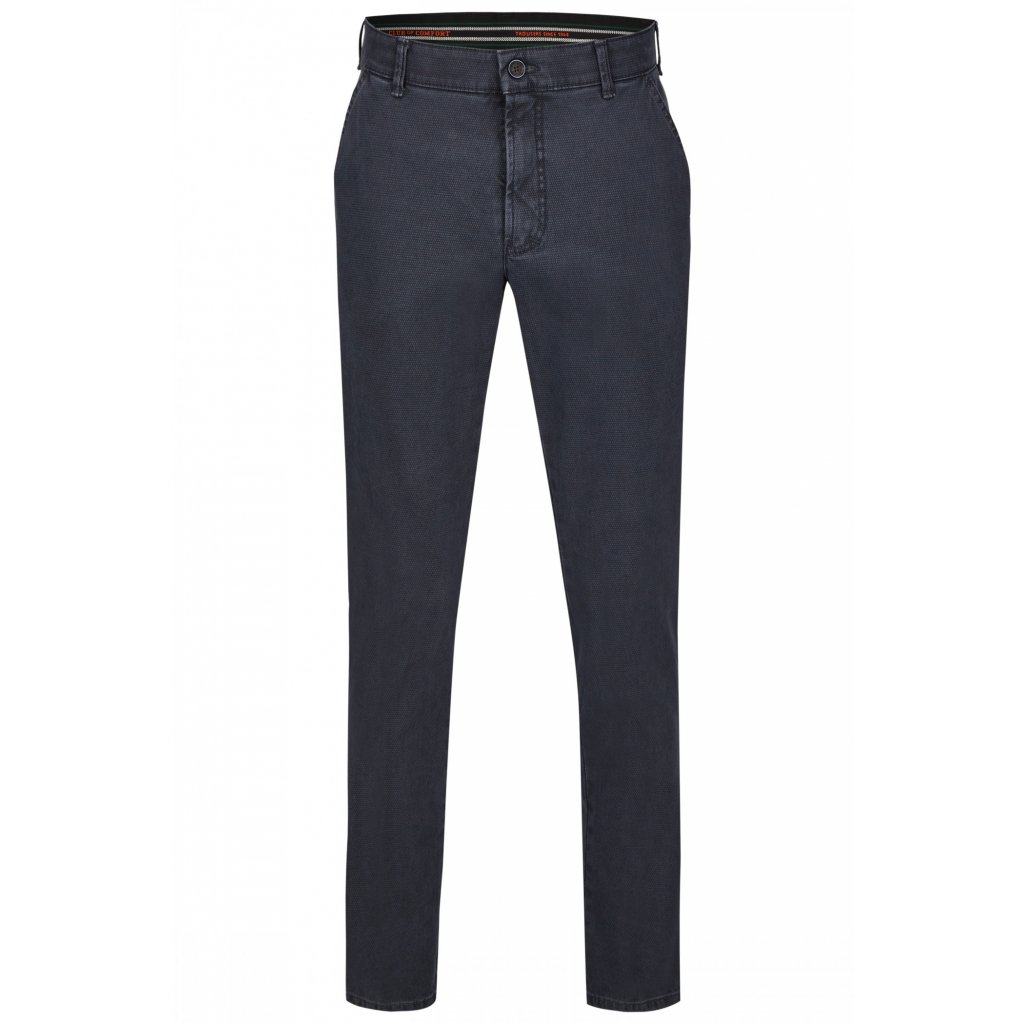 Pánske HI-Stretch modré nohavice CLUB OF COMFORT