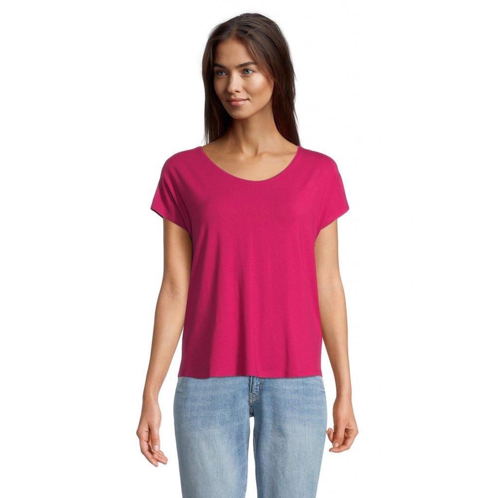 Dámske purpurové tričko Betty&Co.