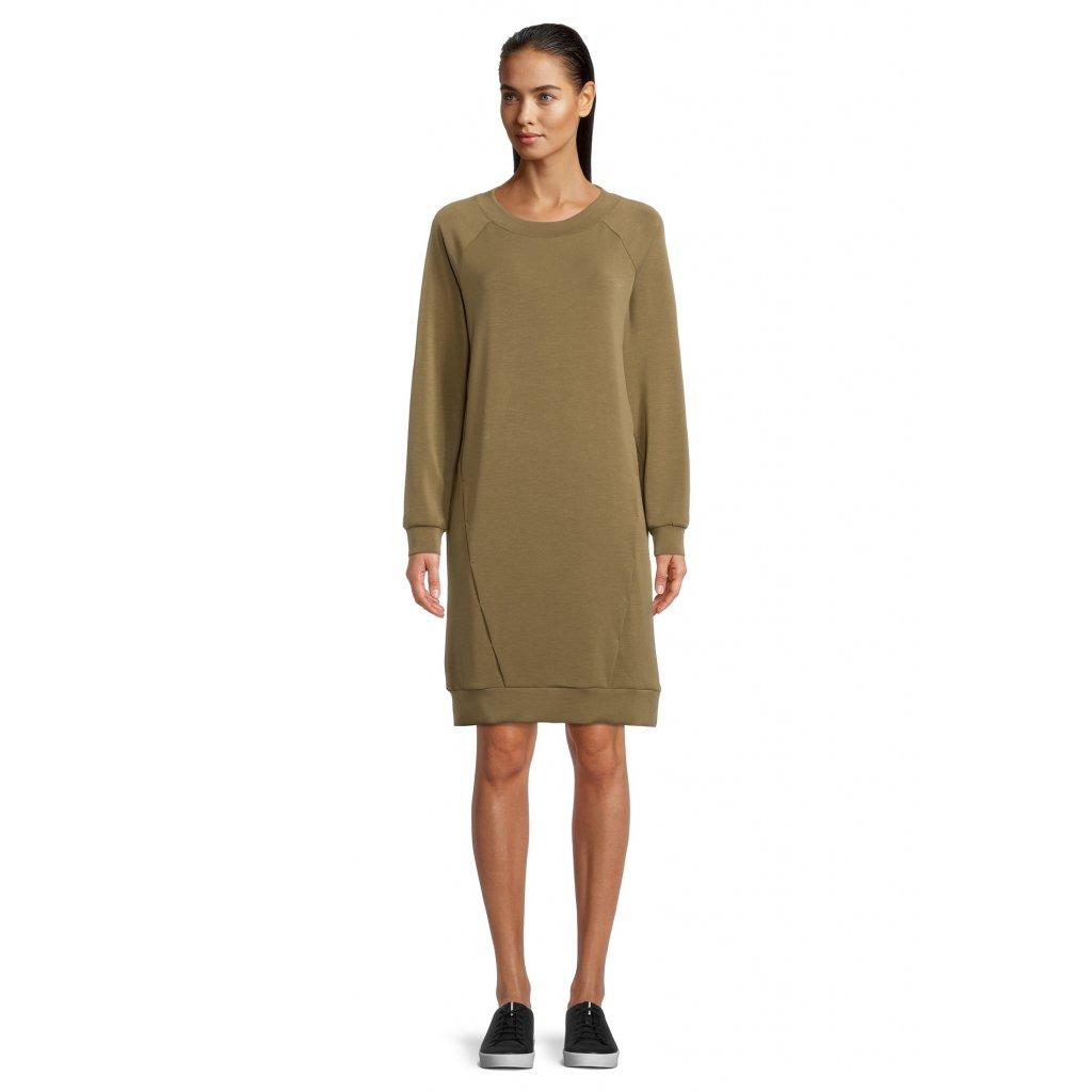 Dámske olivové šaty Betty&Co.