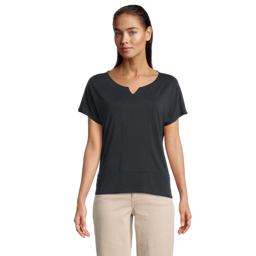 Dámske čierne tričko Betty&Co.