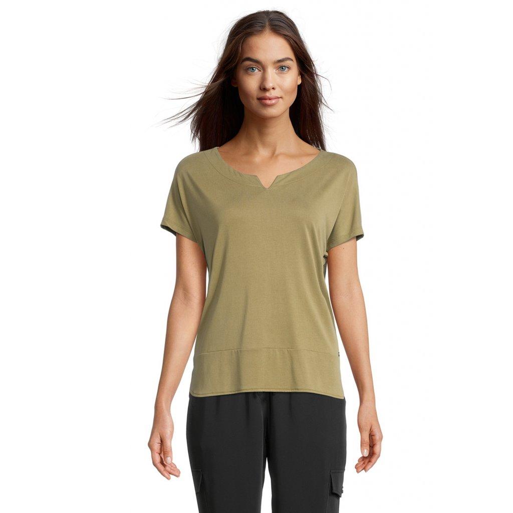 Dámske olivové tričko Betty&Co.