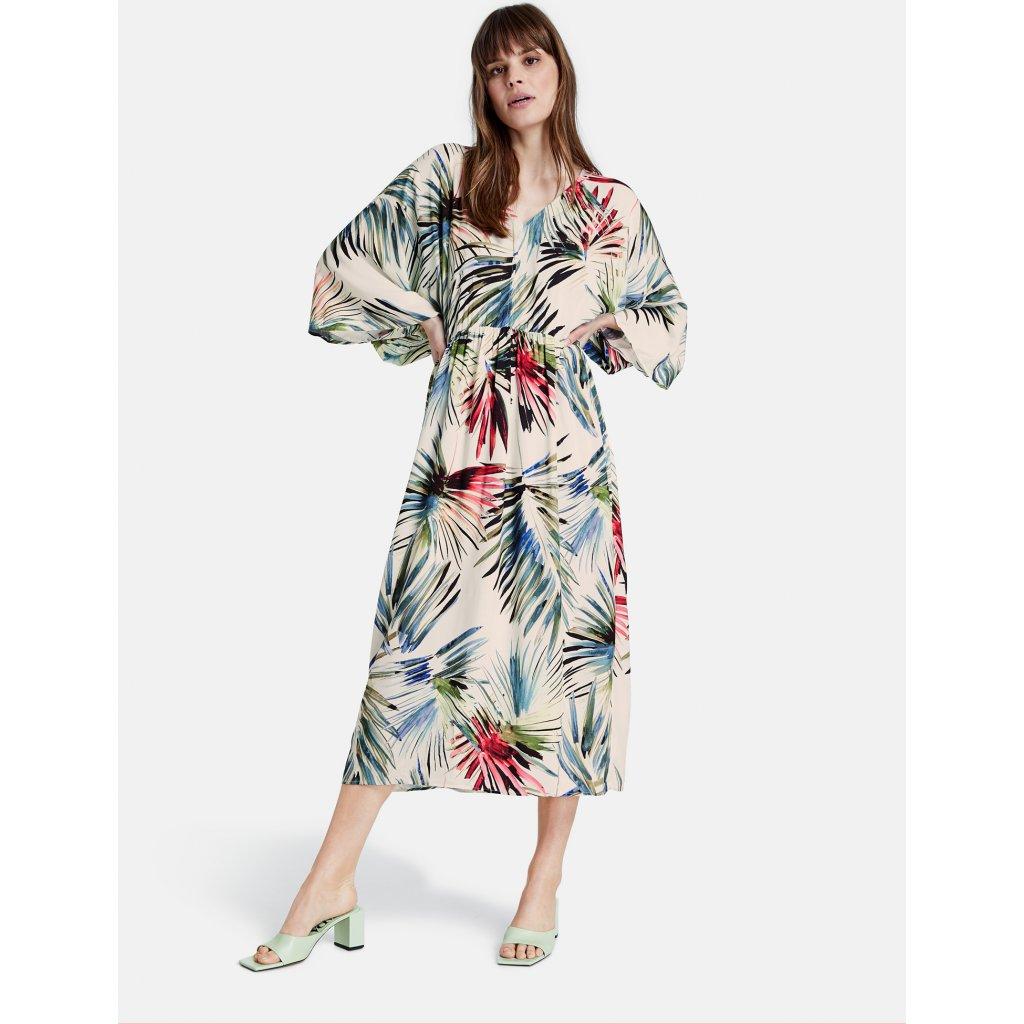 Dámske kvetované letné šaty TAIFUN