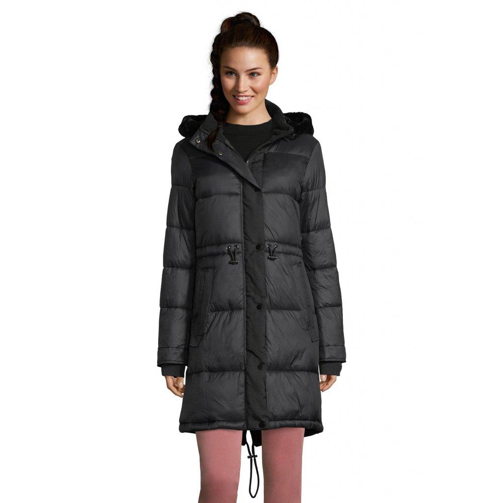 Dámska čierna zimná bunda BETTY BARCLAY
