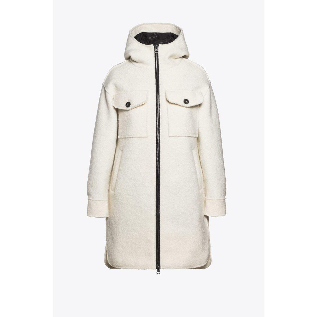 Dámska biela bunda BEAUMONT