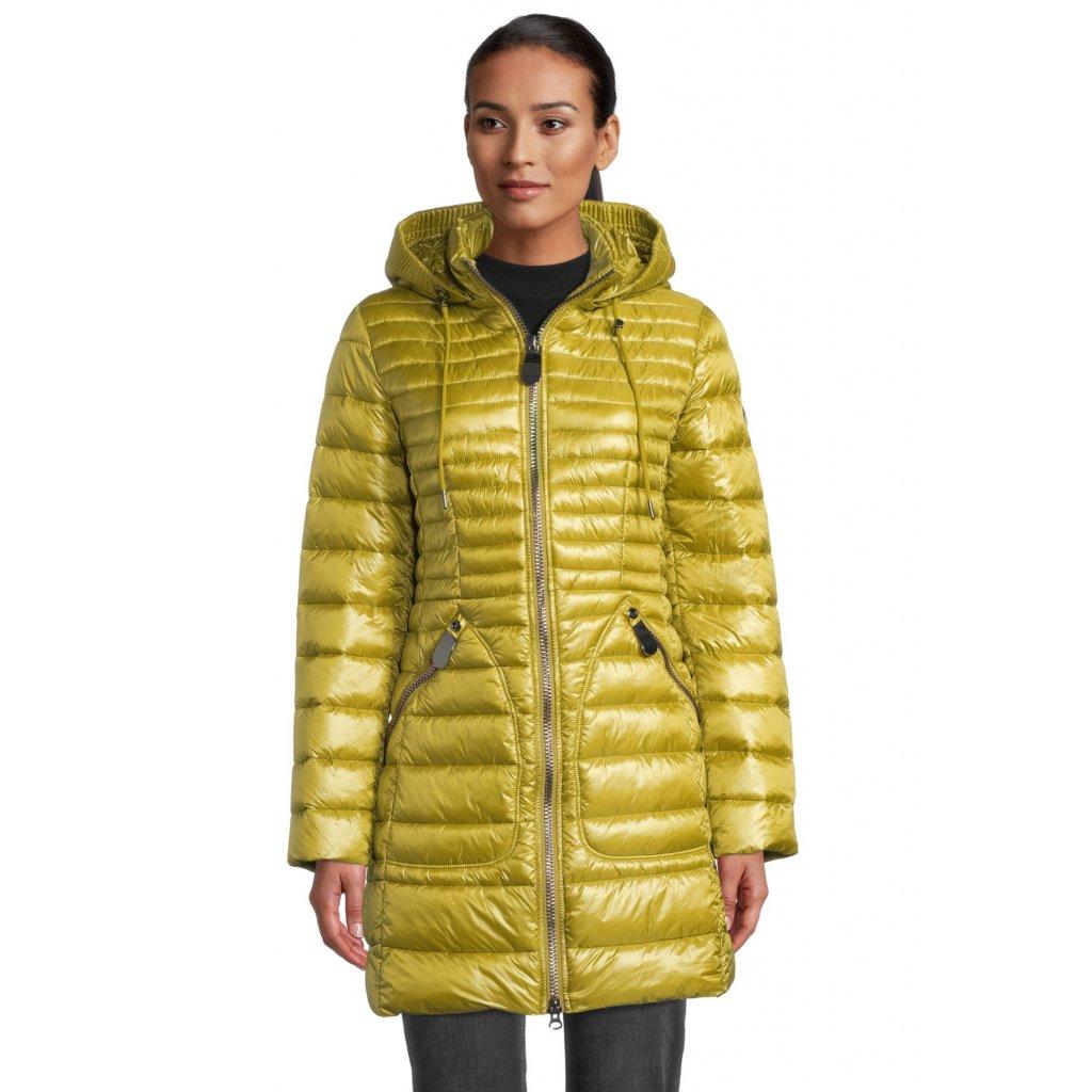 Dámska zimná zlatistá bunda BETTY BARCLAY
