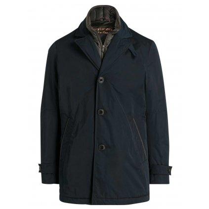 Elegantná pánska zimná bunda s jemnými doplnkami MILESTONE