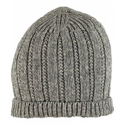 Sivá zimná pánska čiapka Ragman