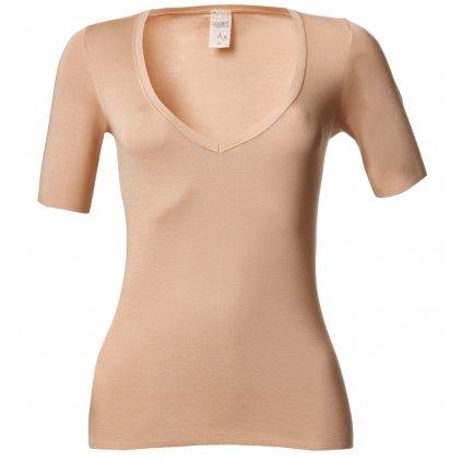Dámske neviditeľné tričko s krátkym rukávom Covert