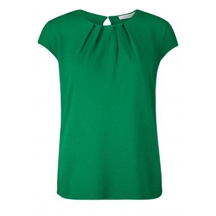 Zelený dámsky top s krátkym rukávom BETTY&CO