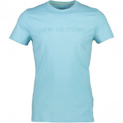 Pánske moderné tričko s nápisom NEW IN TOWN