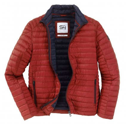 Pánska jarná červená bunda S4
