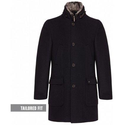 Dlhý pánsky kabát na zimu CLUB OF GENTS, nadmerná veľkosť
