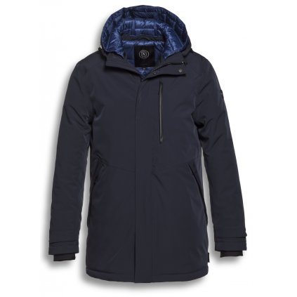 Pánska dlhá bunda na zimu RESET modrá
