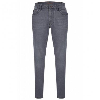 Pánskke sivé džínsy HATTRIC, modern fit