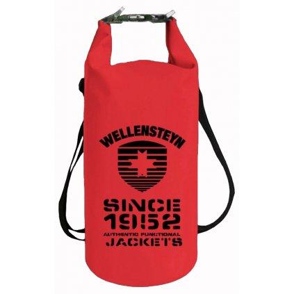 Červený nepremokavý vak WELLENSTEYN, 20 litrový