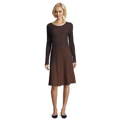 Dámske úpletové šaty s plisom BETTY BARCLAY