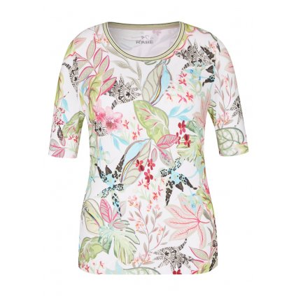 Dámske kvetované tričko RABE