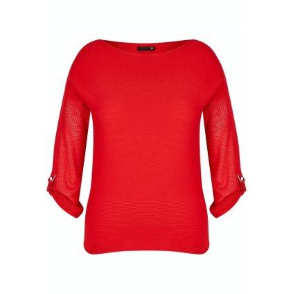 Dámsky červený pulóver RABE