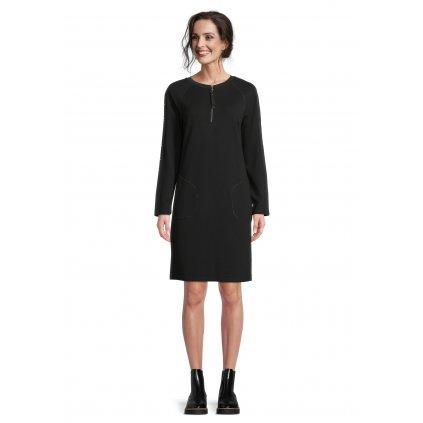 Dámske čierne šaty BETTY BARCLAY