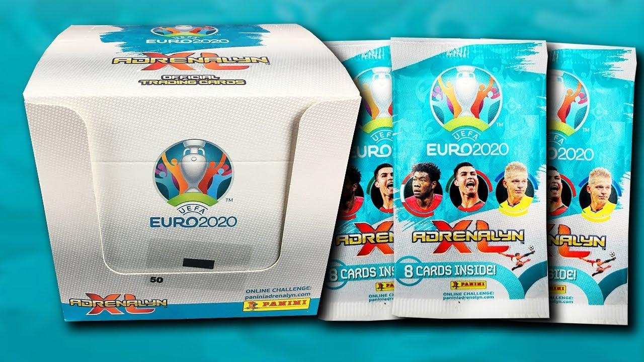 Kartičky Panini EURO 2020
