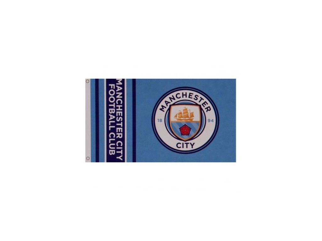 Vlajka MANCHESTER CITY wordmark
