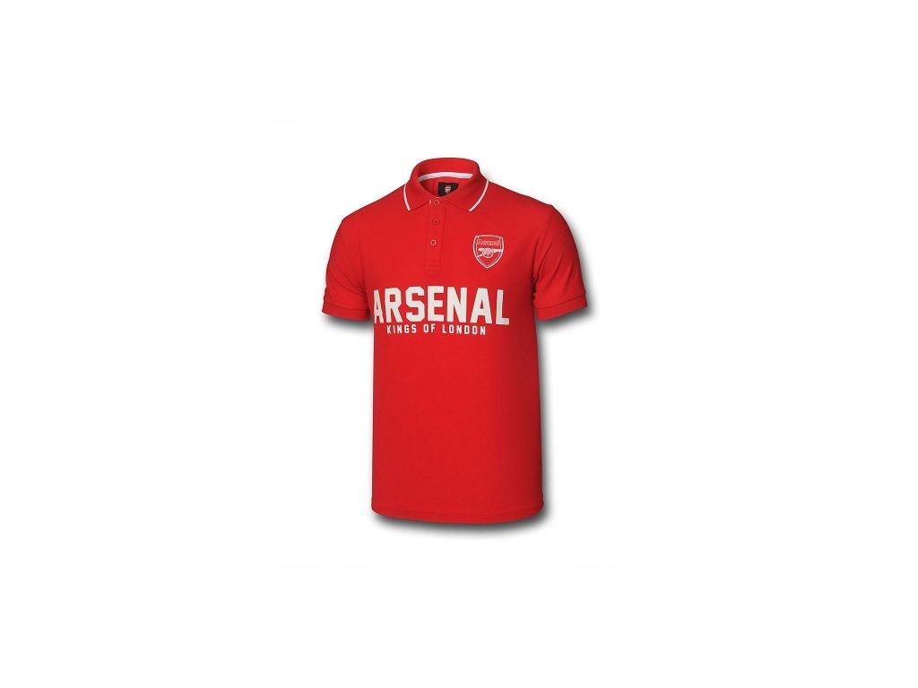 Polo ARSENAL FC graphic red