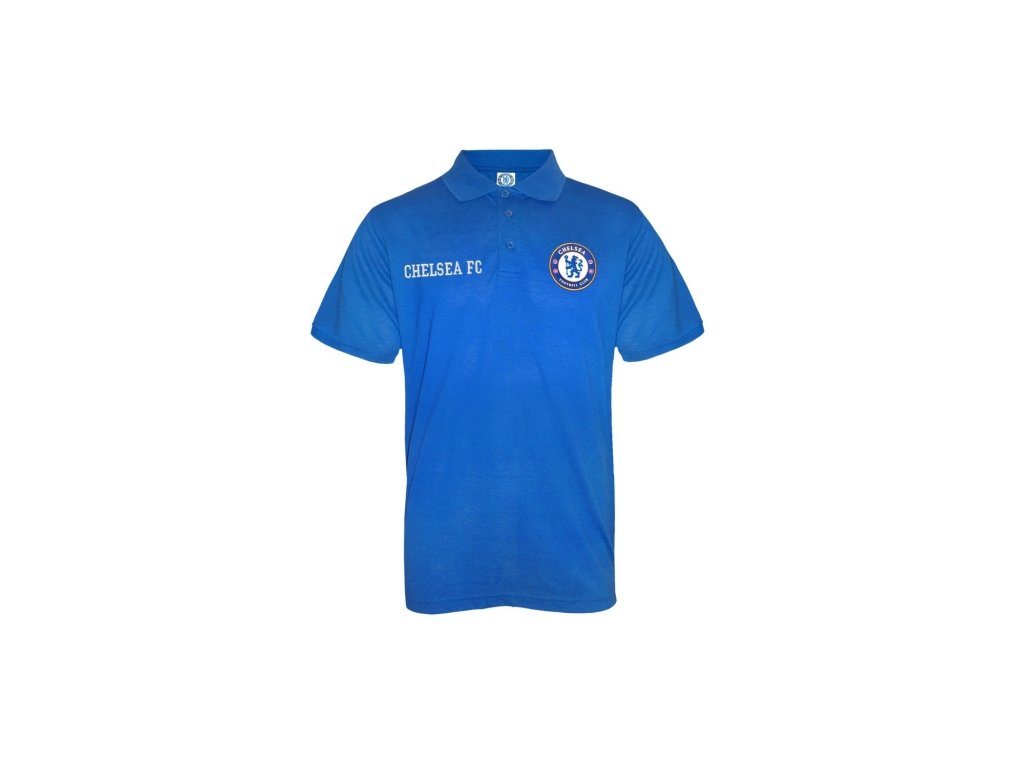 Polo CHELSEA FC SLab Crest royal