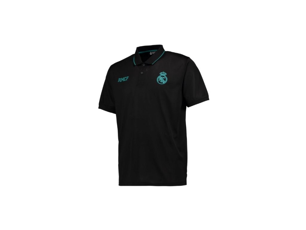 Polo REAL MADRID No2 training black