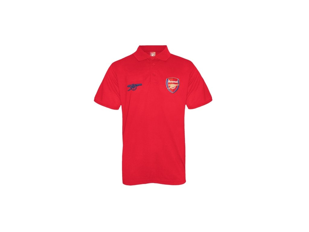 Polo ARSENAL FC SLab red