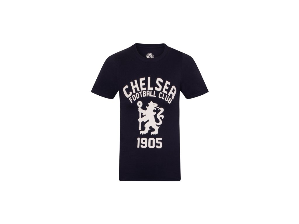 Tričko CHELSEA FC SLab graphic navy
