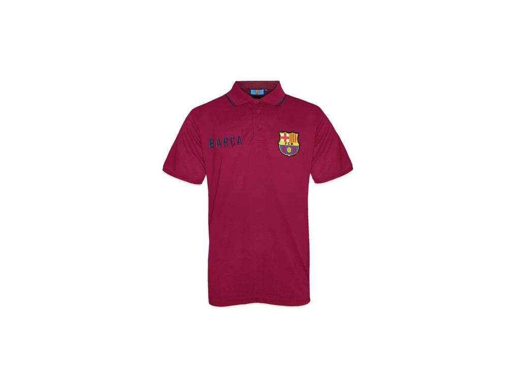 Polo BARCELONA FC SLab red
