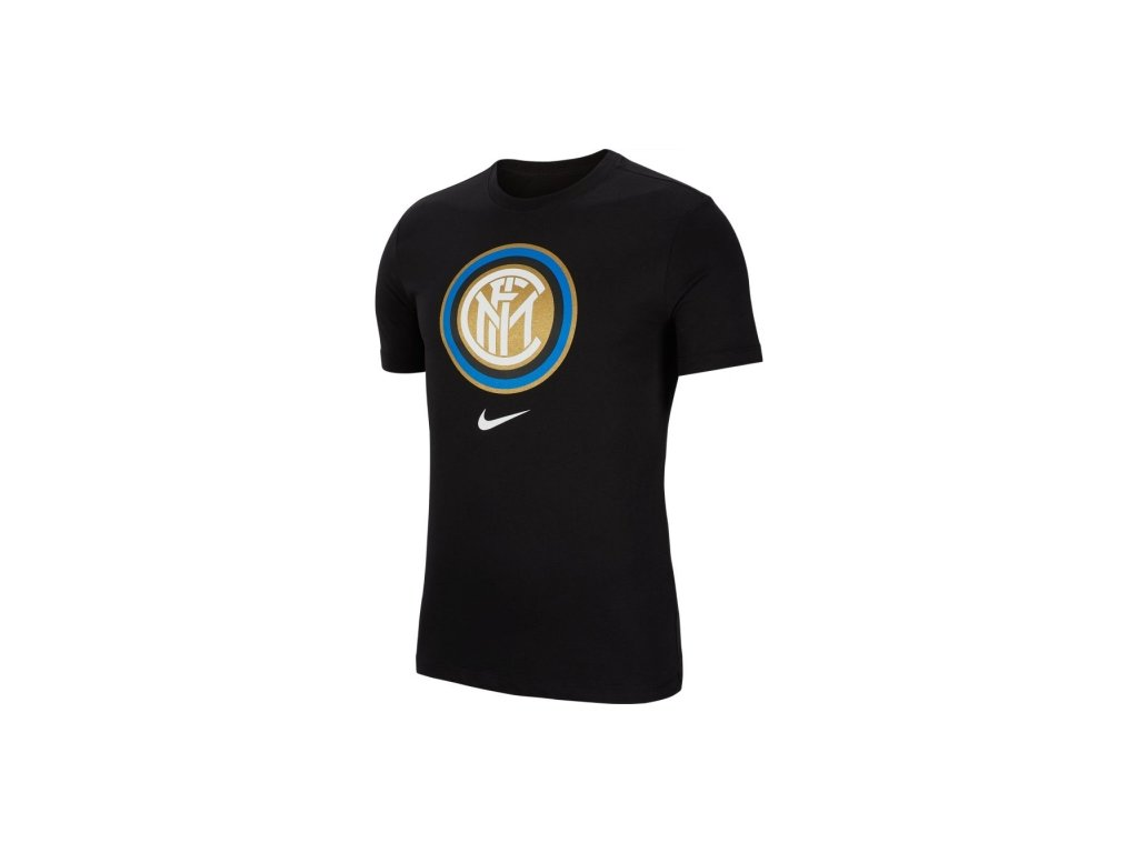 Tričko INTER MILAN evergreen black