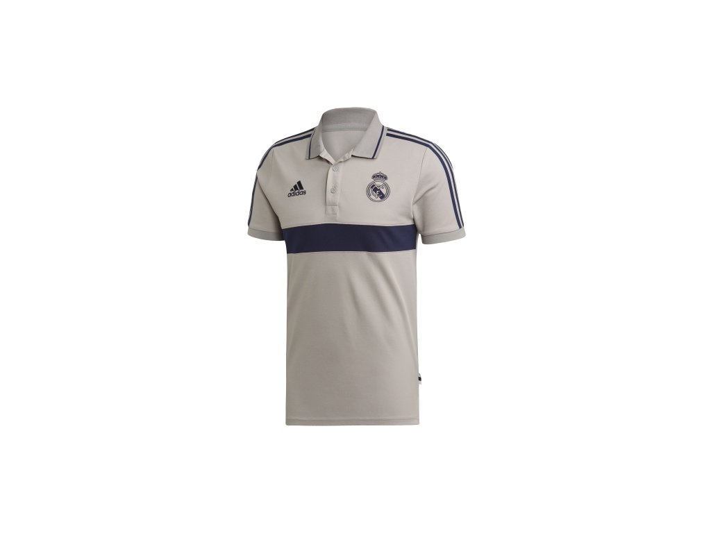 Polo REAL MADRID 19 grey combi