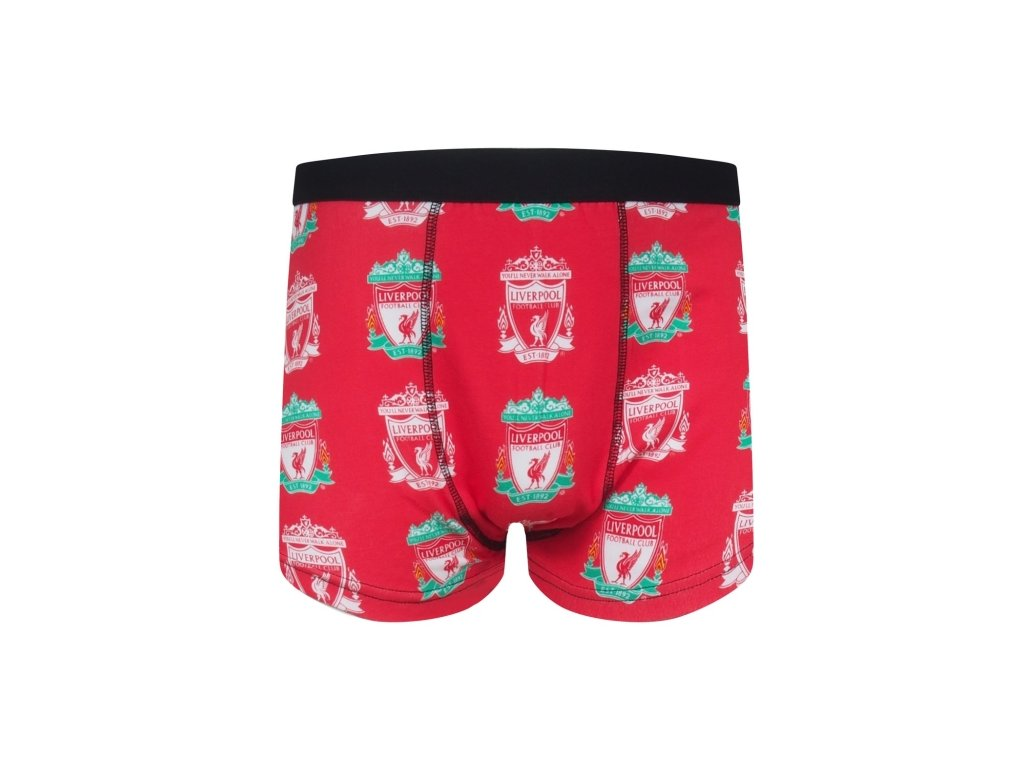 Boxerky LIVERPOOL FC SLab red