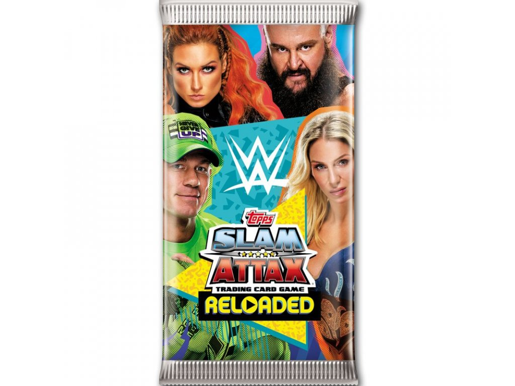 wwe slam attax reloaded 1 booster